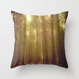 Our forest#2 Throw Pillow