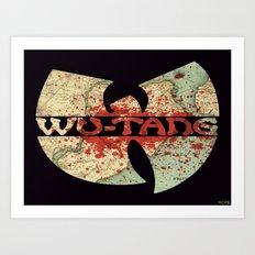 WU-TANG Art Print