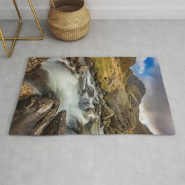 Tryfan Mountain north Wales Rug