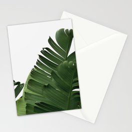 Minimal Banana Leaves Stationery Cards