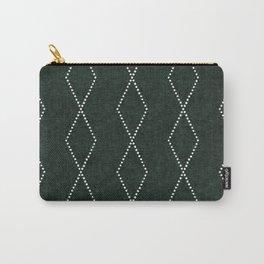geometric diamonds - evergreen Carry-All Pouch
