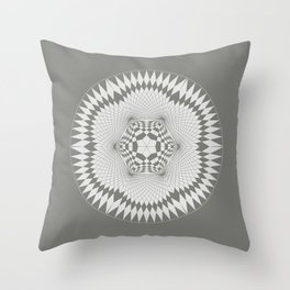 flower of life, alien crop formation, sacred geometry Throw Pillow