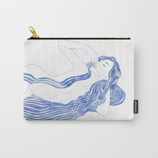 Water Nymph XXXVI Carry-All Pouch