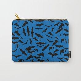 Bats Nebulas Blue Carry-All Pouch