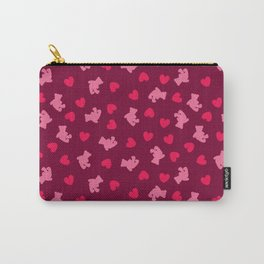 Teddies and hearts Carry-All Pouch