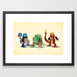 Pick One Framed Art Print