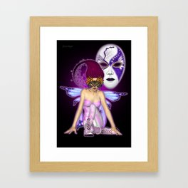 Queen of Fantasy and Mischief .. fantasy Framed Art Print