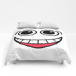 Laughing Face Comforters