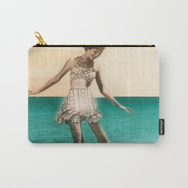 Vintage Beah Girl Carry-All Pouch