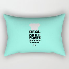 Real Grill Chefs are from Indonesia T-Shirt Dz24t Rectangular Pillow