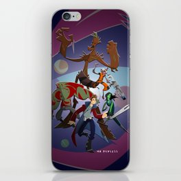 Guardians of the Galaxy (Print) iPhone Skin