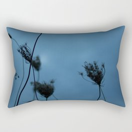 Queen Anne's Lace at Dusk Rectangular Pillow