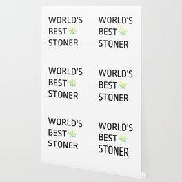 World's Best Stoner - Weed Marijuana Mary Jane Kemp Stoner Blaze It Wallpaper