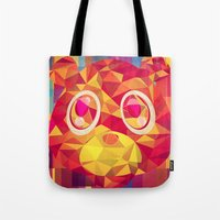 teddy bear Tote Bags featuring TEDDY by Original Bliss