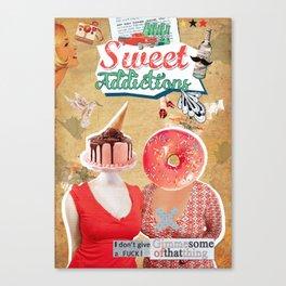 Sweet Addictions Canvas Print