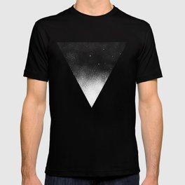White Dot Triangle T-shirt