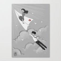 Paperman Canvas Print