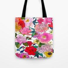 Peonies & Roses Tote Bag