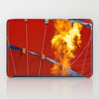 hot air balloons iPad Cases featuring Hot Air Balloons  by Cornish Seascapes