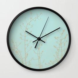 Choco Mint Jasmine Wall Clock