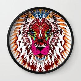 Bohemian Lion Wall Clock