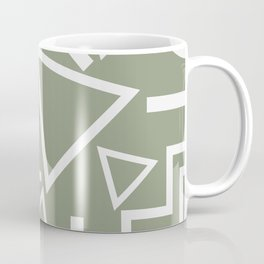 Shapes- lost and found Coffee Mug