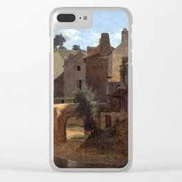 Jean-Victor Bertin View in the Île-de-France Clear iPhone Case