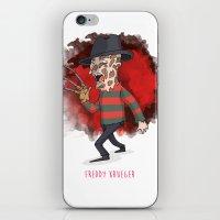 freddy krueger iPhone & iPod Skins featuring 26 - Freddy krueger by Jomp