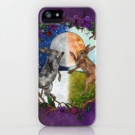Ostara's Dance iPhone Case
