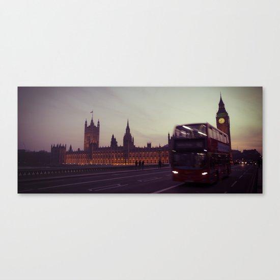 Big Ben at dusk, London | cinematic Canvas Print