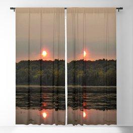 A Smoky Sunset. Blackout Curtain