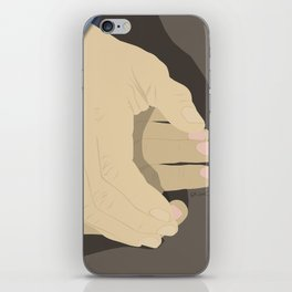 That moment when he tentatively reaches to hold her hand for the first time... iPhone Skin
