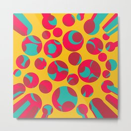 Psychedelic cheese Metal Print