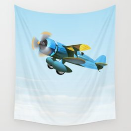 Vintage Prop aircraft Wall Tapestry