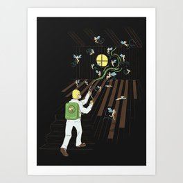 Just Another Day on the Job Art Print