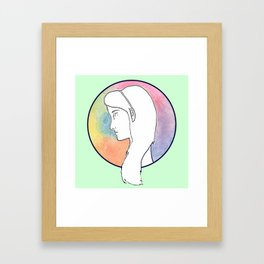 Música Framed Art Print