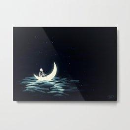 Fallen Sailor Metal Print