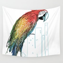 Polly in the City Wall Tapestry