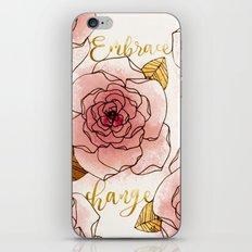 Embrace Change iPhone & iPod Skin