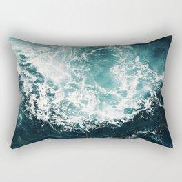 Sea waves II Rectangular Pillow