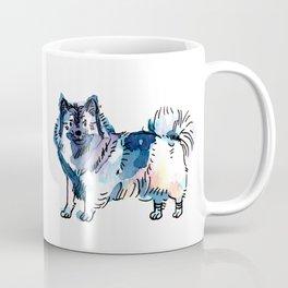 Winter - Dog Watercolour Coffee Mug