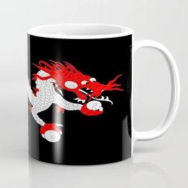 Dragon-A variation on the flag of Bhutan. Coffee Mug