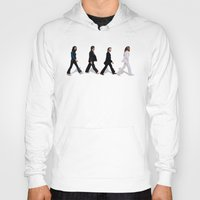 downton abbey Hoodies featuring Abbey road by eARTh
