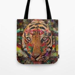 Seeing Eye Tiger Tote Bag