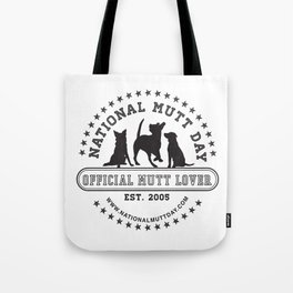 National Mutt Day Official Logo Tote Bag