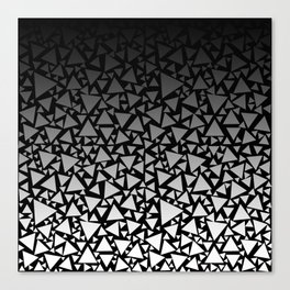 Crazy Triangles 2 Canvas Print