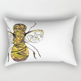 Barnaby the humble bumble bee Rectangular Pillow