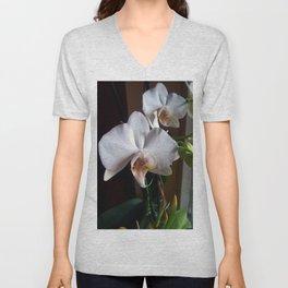 Graceful Orchids !! Unisex V-Neck