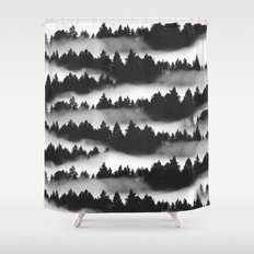 Don't Get Lost in Mist Shower Curtain