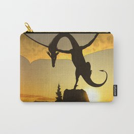 Dragon Sunset Carry-All Pouch